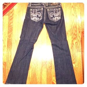 Miss Me Low-Rise Boot Cut Jeans